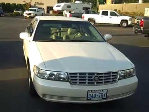 2001 Cadillac Seville Sls White Art Gamblin Motors Jim Wiseman