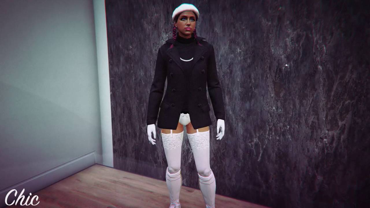 GTA V Female Outfits* - YouTube