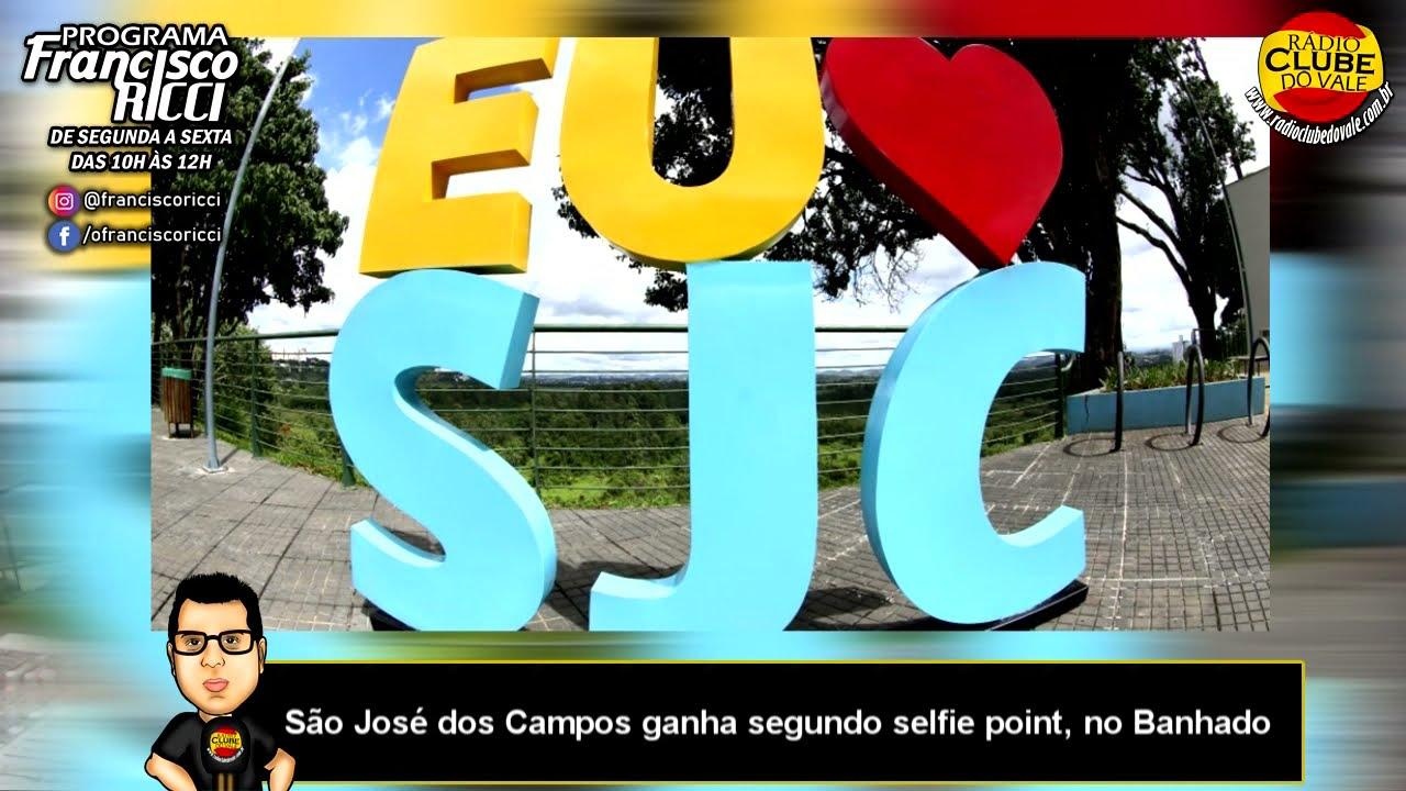 São José dos Campos ganha segundo selfie point, no Banhado