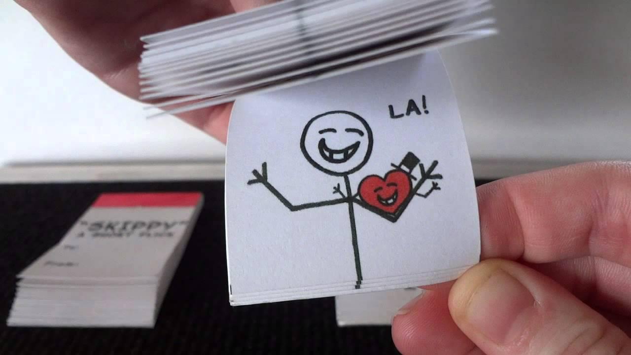 Connu Flip-Book Valentines Cards by Jen Weston - YouTube BK91