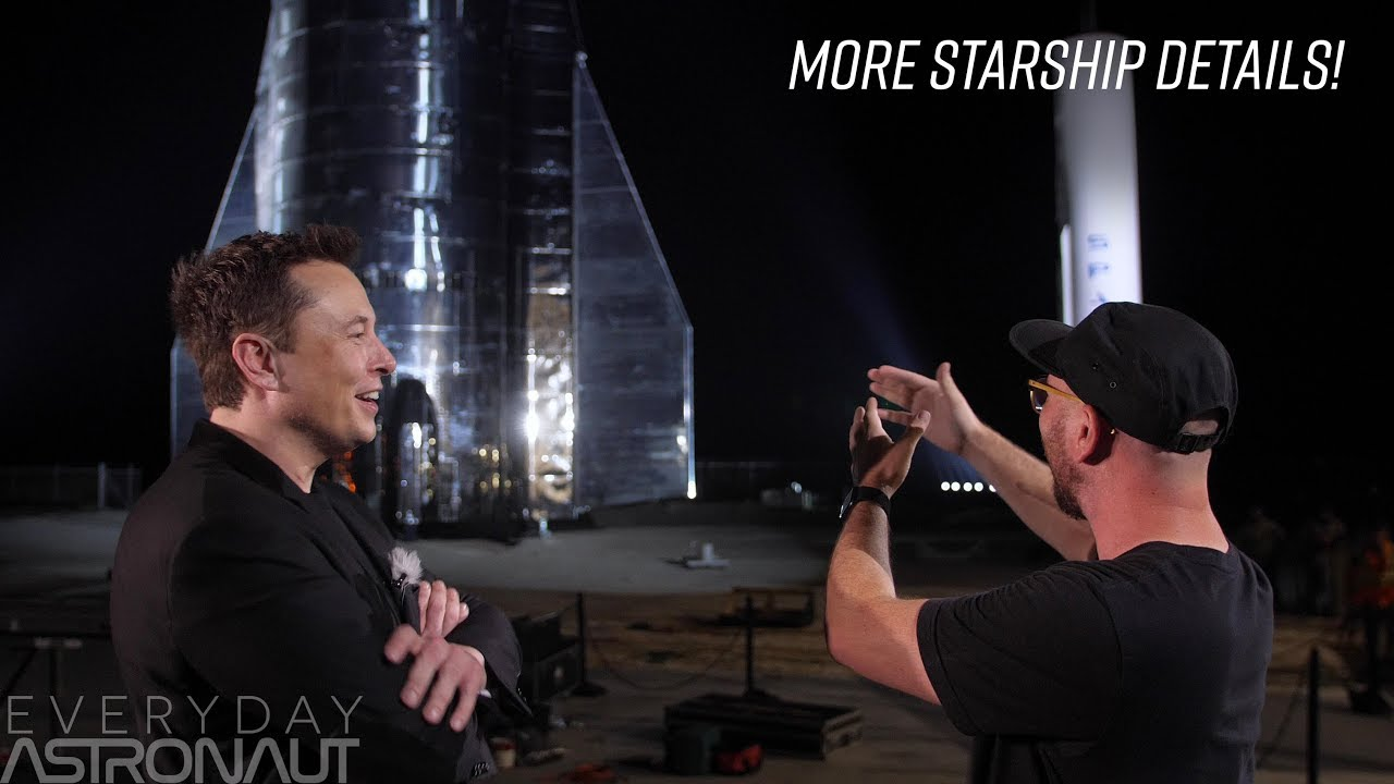 A conversation with Elon Musk about Starship - YouTube