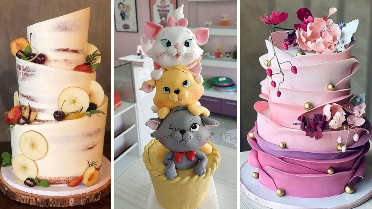 Top Yummy Cake Decorating Compilation | Easy Chocolate Cake Decorating Ideas | So Tasty Cakes