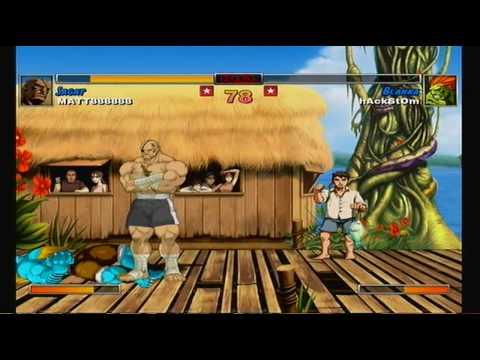 Street Fighter 2 HD REMIX, the return of BLANKA 2 of 3