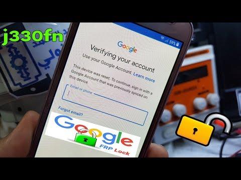 samsung j3 2017 j330fn frp bypass google account oreo 8.0-u3