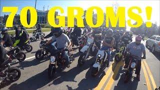 Grom Day Teaser!  70+ Groms Stunt Ride!
