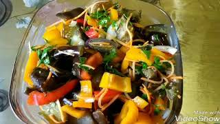 Супер салат из баклажан!!!Без майонеза!!!