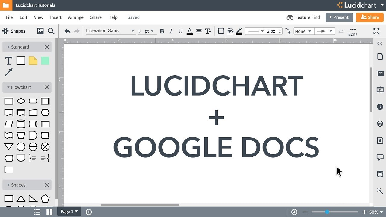 Lucidchart Tutorials Add Diagrams To Google Docs Youtube How Draw A Use Case Diagram In Uml
