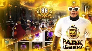 I HIT 99 OVERALL ON MY PURE POINT FORWARD ON NBA 2K19! 99 OVERALL REACTION 2K19!
