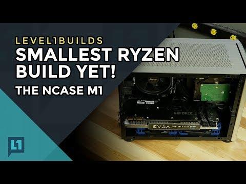 Smallest Ryzen Build Yet! The NCASE M1
