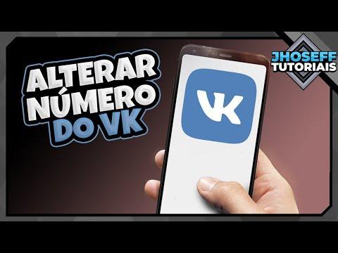 Como Mudar O Número Do VK   Atualizado!