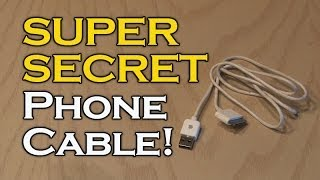 SUPER SECRET Phone Cable!(Make a secret storage device from an ordinary cell phone cable! Support this video and get your FREE download at http://audible.com/kipkay GET A FREE DIY ..., 2013-12-06T21:30:27.000Z)