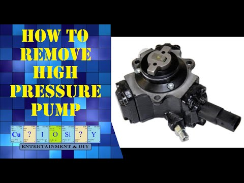 How To Remove Diesel High Pressure Pump Youtube