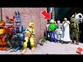 Download CAN THE ANIMATRONICS DEFEAT THE ULTIMATE VILLAIN SQUAD? (GTA 5 Mods FNAF Kids RedHatter)