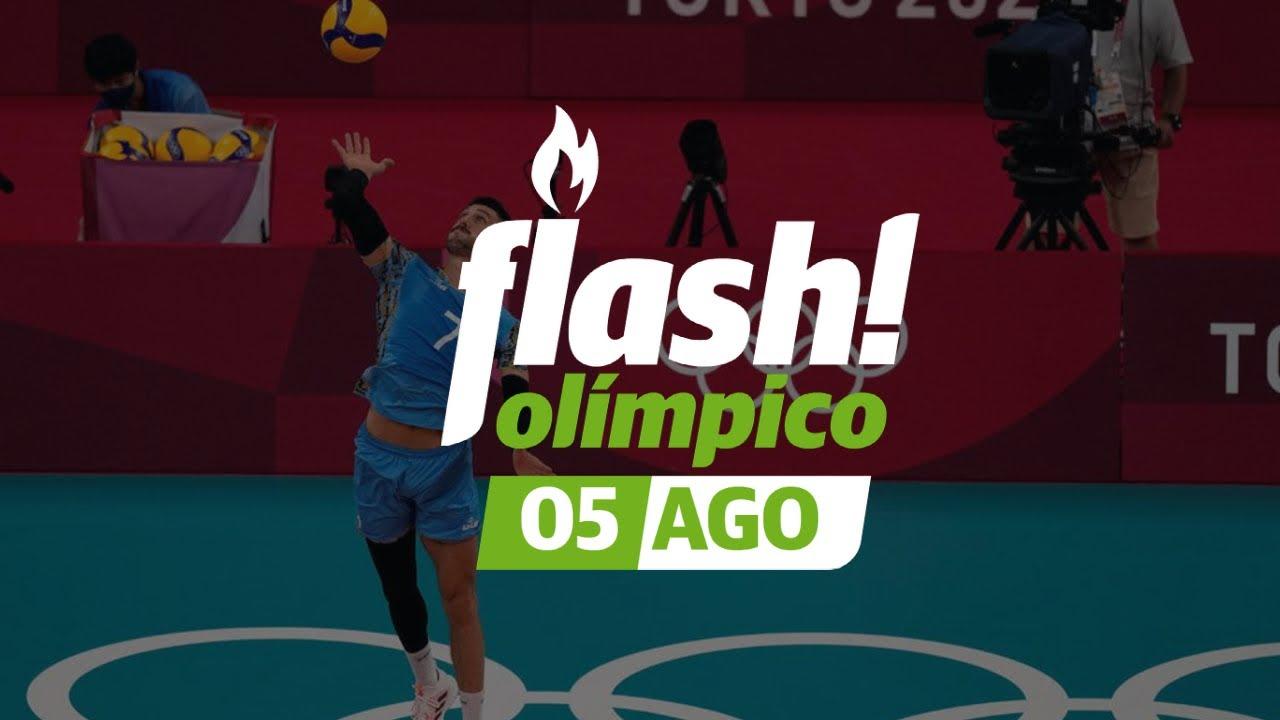 En vóley, falta un paso para el podio l Flash Olímpico! 05/08🥇 #Tokyo2020