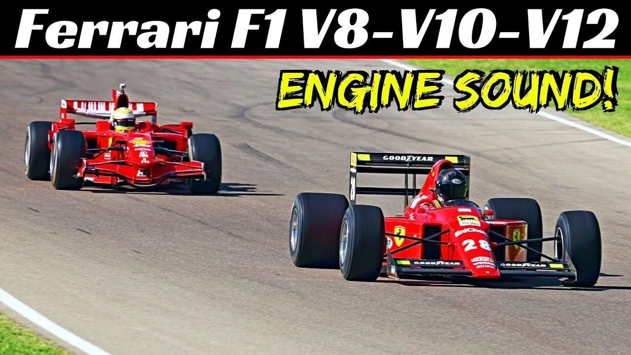 Ferrari F1 Formula One Corse Clienti Imola 2019 V8 V10 V12 N A Engine Sound Youtube