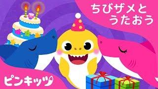 ちびザメのたんじょうび | サメのかぞく | ちびザメとうたおう | どうぶつのうた | ピンキッツ童謡