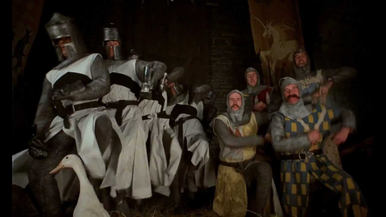 The monty python sacr graal la chanson des - Les chevaliers de la table ronde lyrics ...