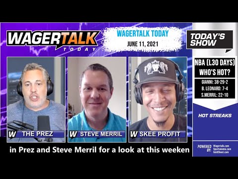 Free Sports Picks and Sports Betting   NBA Playoff Previews   WagerTalk Today   June 11