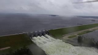 2017 Hurricane Harvey Lake Conroe TX Dam Release