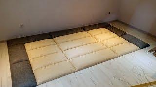 видео Кровати с мягким изголовьем | Купить в интернет-магазине Мебельный дом