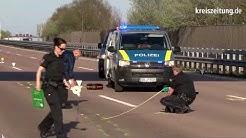 Tödlicher Unfall: Cabriofahrer stirbt auf A1 in Stuhr bei Bremen