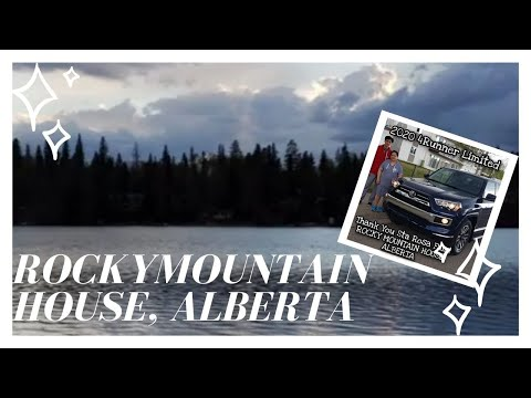 Gerry's Delivery Roadtrip Vlog! Rocky Mountain House,Alberta and a 2020 Toyota 4Runner Limited!