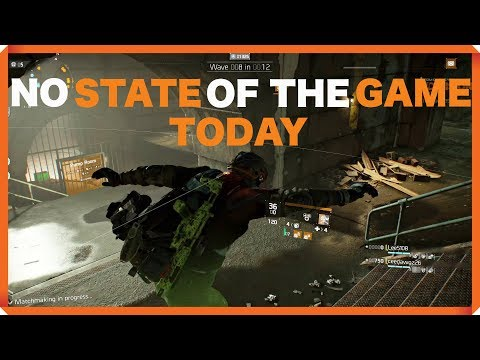 The Division | NO STATE OF THE GAME TODAY | RESISTANCE | 1.8 GAMEPLAY