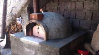 Taş fırın köy fırını Yapımı tas firini koy firini yapimi oven pizza oven