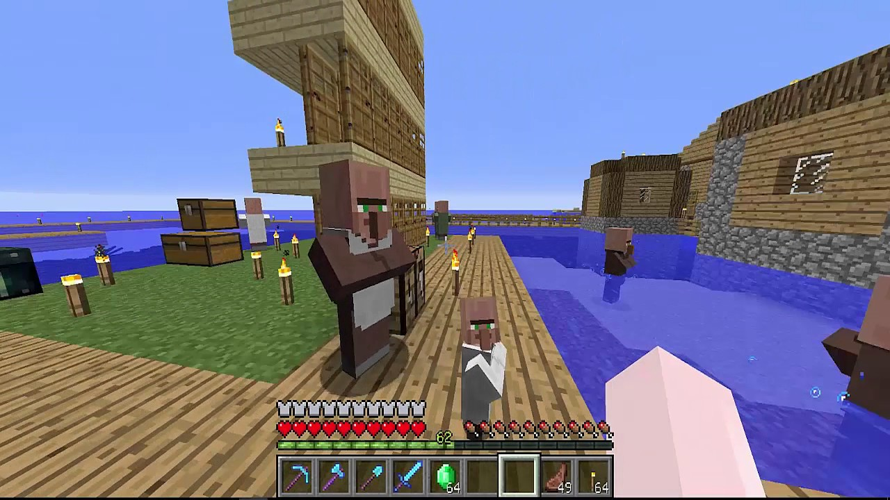 《Minecraft原味生存》住在終界 Live in The End_EP.154 - 急速滑翔的快感! - YouTube
