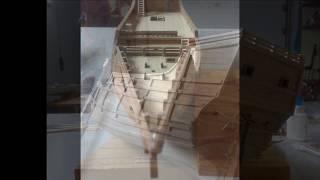Modelismo - Construção Nau Santa Maria / Modeling - Construction Nau Santa Maria