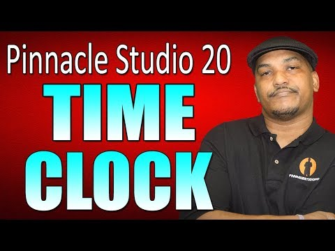 Pinnacle Studio 20 Ultimate   Time Clock - Countdown Tutorial