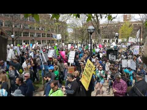 March For Science - Ann Arbor, MI