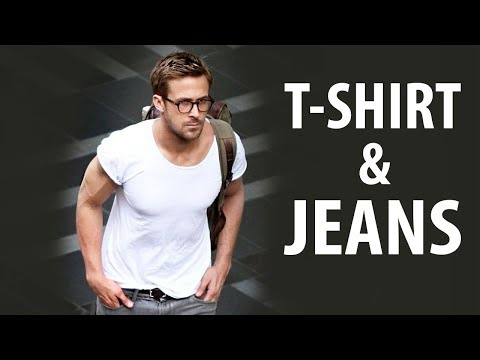 How To Look Good in T-Shirt and Jeans | Casual Men's Fashion | Alex Costa