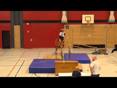 Deutscher Schüler-Cup U14 Kondiwettbewerb (27.09.2014) - Balancieren - Finn Torbohm
