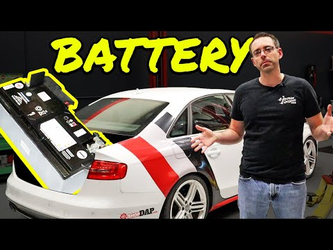 How to Recode and Install a Battery on an Audi S4