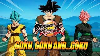 GOKU, GOKU AND GOKU: Dragon Ball FighterZ - Ranked Matches