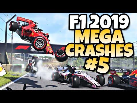 F1 2019 MEGA CRASHES #5  