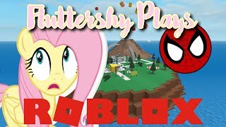 Disasters & FlutterSpiders [Fluttershy Plays: Roblox Episode 1]