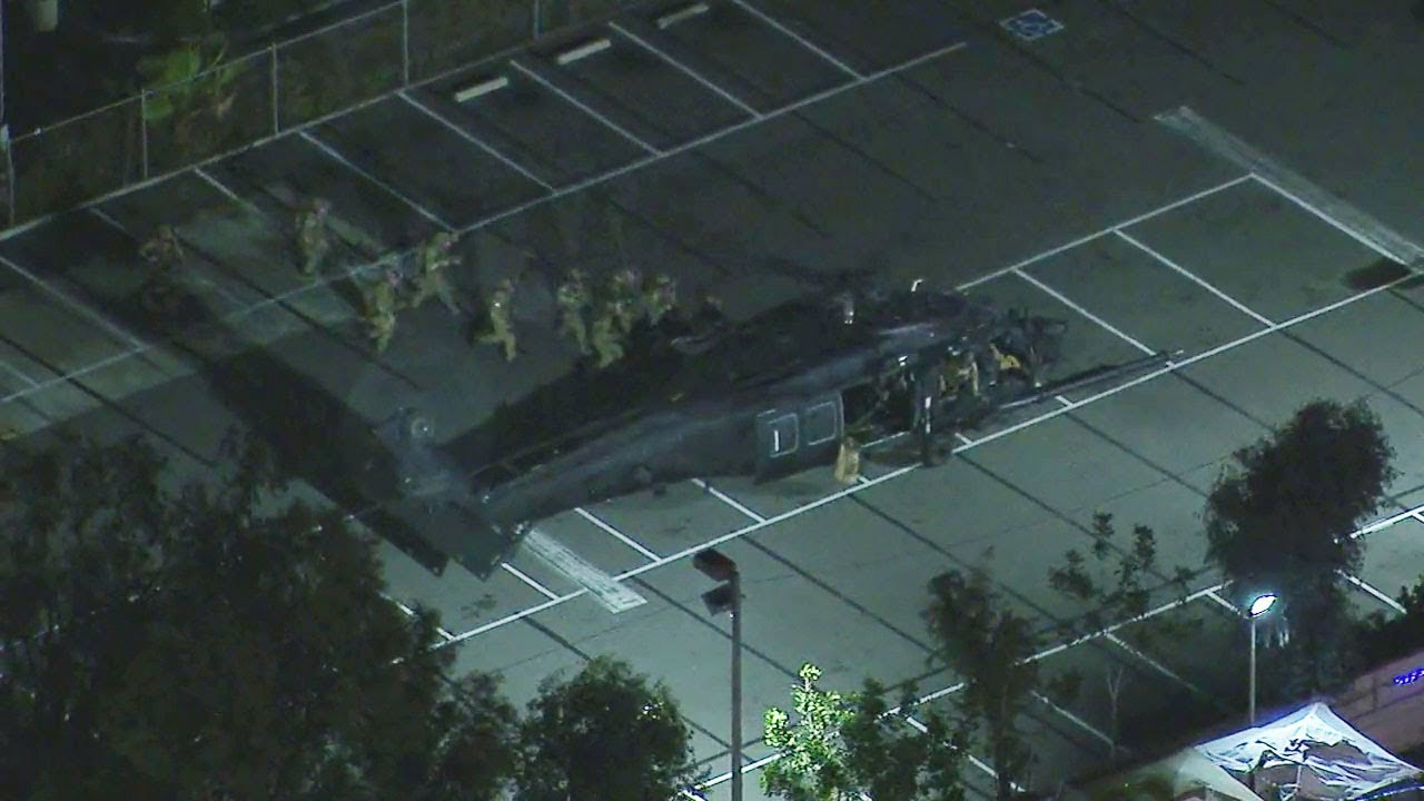 Military exercises rattling nerves around LA   ABC7