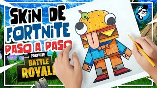 HOW TO DRAW FORTNITE SKIN, FORTNITE DRAWINGS STEP BY STEP, NEW FORTNITE SKIN EASY DRAWING
