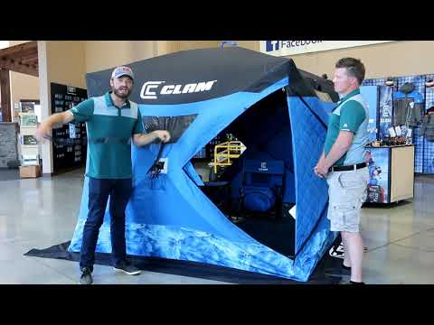 Clam Refuge Ice Thermal Pop Up Shelter