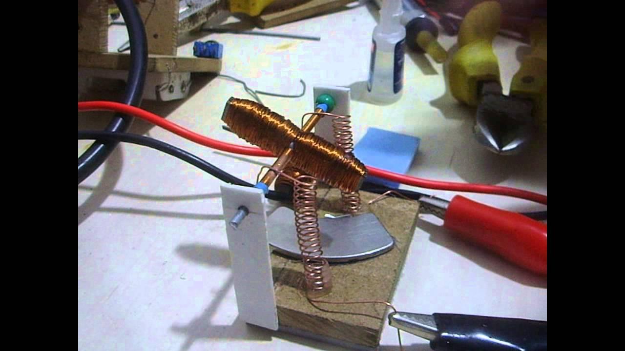 fcf7a770a94 Como fazer um motor cc caseiro - YouTube