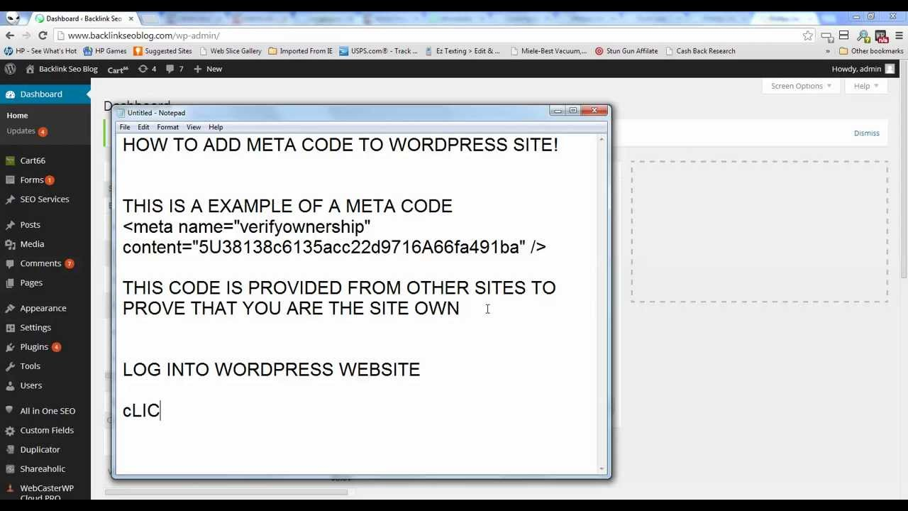 Shaco Build S7: How To Add Meta Tag To Wordpress Header