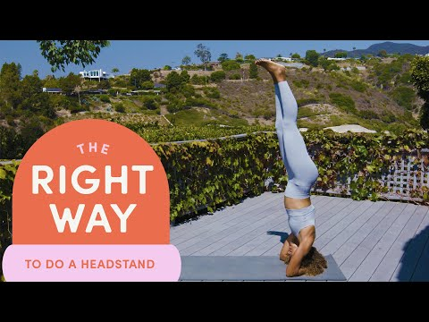 How To Do A Headstand | The Right Way | Well+Good