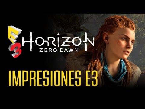 HORIZON ZERO DAWN: ¿Nos gustó en el  E3 2015? Si!