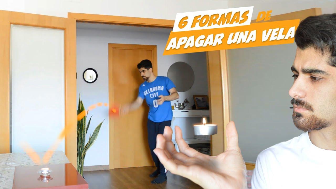 6 FORMAS DE APAGAR UNA VELA CON TIROS IMPOSIBLES