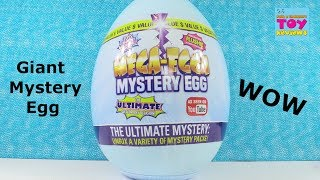 Mega Egga Giant Surprise Mystery Egg Blind Bag Toy Opening | PSToyReviews