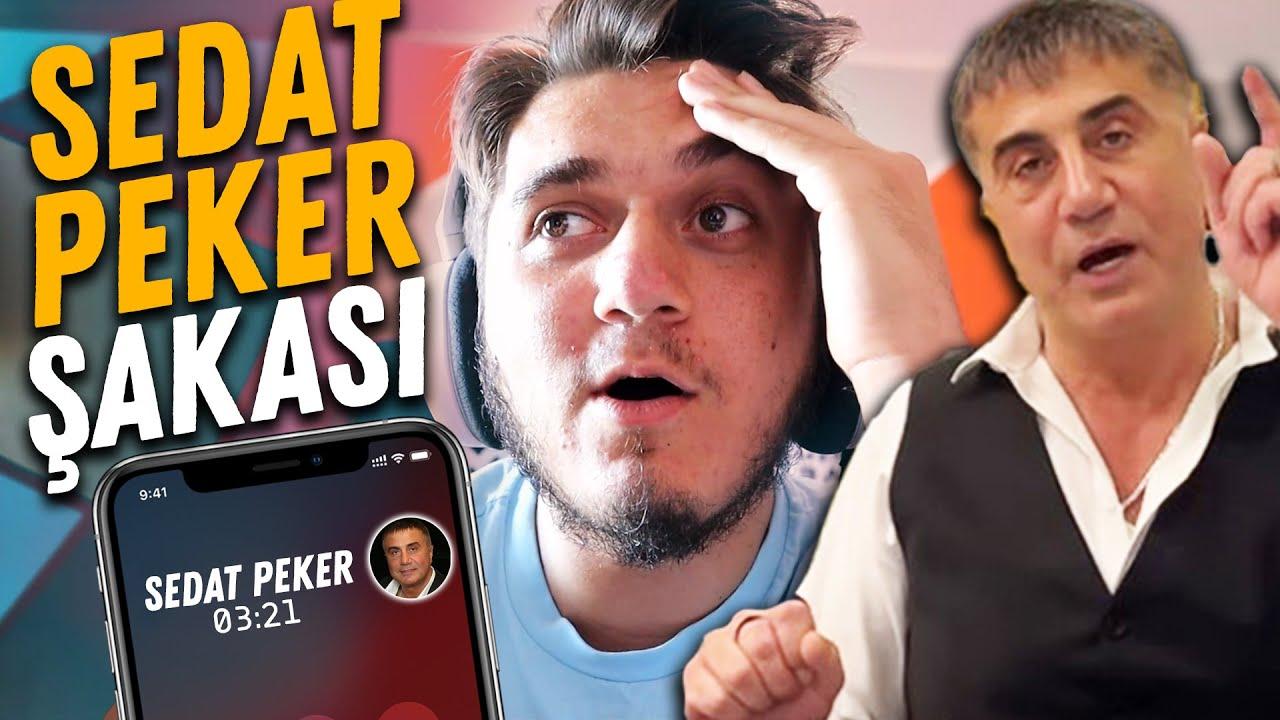 SEDAT PEKER PEŞİMDE ! - TAKLİTMAN ile TELEFON ŞAKASI