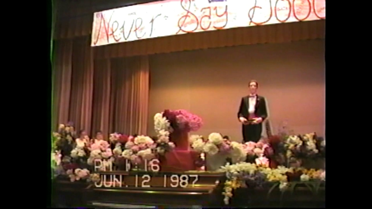 CCRS Class Day (tripod)   6-12-87