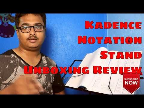 Kadence Notation Stand Unboxing Review